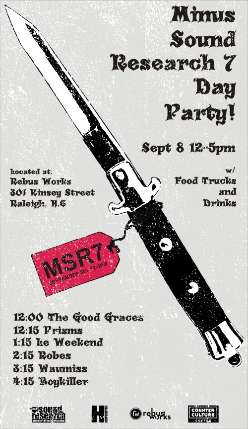 MSR7 DAY PARTY!